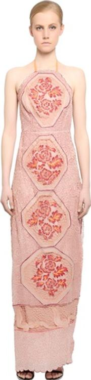Fabiana Milazzo , Embellished Silk Tulle Dress