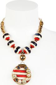 Sonia Boyajian , Gypsy Sunset Gold Plated Necklace