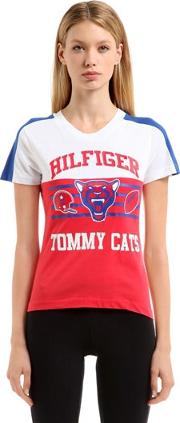 Tommy Hilfiger Collection , Hilfiger Tomcats Cotton T Shirt