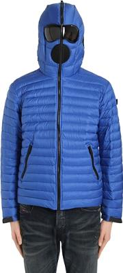 Ai Riders On The Storm , Zip Up Nylon Micro Ripstop Down Jacket