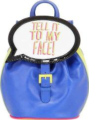 Sophia Webster , Tell It To My Face Leather Backpack