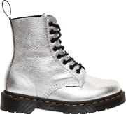 Drmartens , 30mm Pascal Metallic Leather Boots