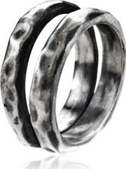 Henson , Carved Double Ring
