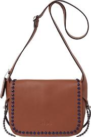 Coach Ny , The Dakota Studded Leather Shoulder Bag