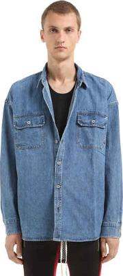 Fear Of God , Oversized Denim Shirt