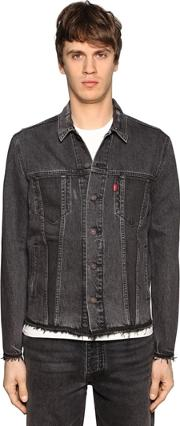 Levis Red Tab , Raw Cut Altered Trucker Cotton Jacket