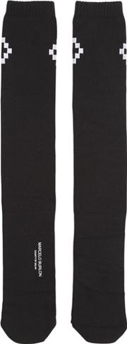 Marcelo Burlon County Of Milan , Cruz Cotton Blend Socks