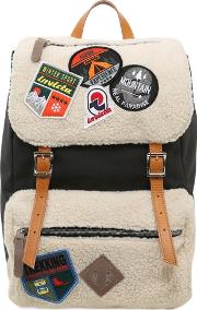 Invicta , My Jolly Canvas Backpack W Patches