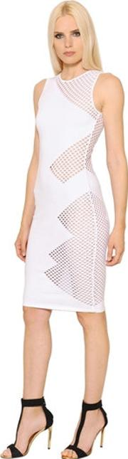 Alexandre Vauthier , Fishnet & Knit Dress