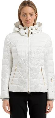 Bogner , Cyra Embroidered Down Jacket