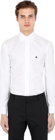 Brooks Brothers , Milano Cotton Pinpoint Shirt