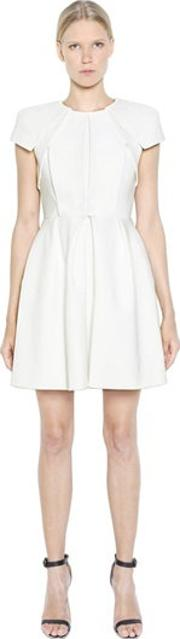 Dice Kayek , Pleated Bonded Cotton Dress