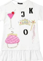 Jakioo , Cocktail Princess Patches Cotton Dress