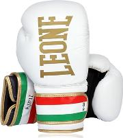 Leone 1947 , 10oz Italy Printed Leather Boxing Gloves