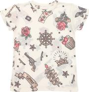 Madson Discount , Tattoo Printed Jersey T Shirt