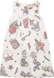 Madson Discount , Tattoo Printed Recycled Jersey Dress