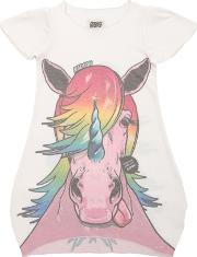 Madson Discount , Unicorn Print Recycled Jersey Dress