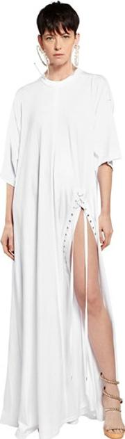 Y Project , Oversized Tunic Cotton Jersey Dress