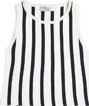 Milly Minis , Striped Knit Top