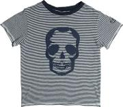 Zadig&voltaire , Skull Printed Cotton Jersey T Shirt