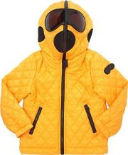 Ai Riders On The Storm , Ripstop Nylon Hooded Puffer Jacket