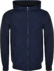 Fred Perry , Tonic Hooded Brentham Jacket Navy