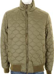 Dockers , Quilted Bomber Jacket Olive Green