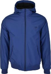 Fred Perry , Hooded Brentham Jacket Blue