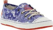 Tigerbear Republik , New  Tangle Womens Canvas Trainers Size Uk 4 And 5