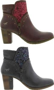 Mustang , Shoes Womens 1199 510 Ankle Boots