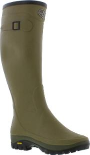 Le Chameau , New  Wellingtons Boots Country Vibram Wellies Size Uk 5 11