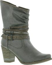 Mustang , Shoes Womens 1147 508 Tall Ankle Boots
