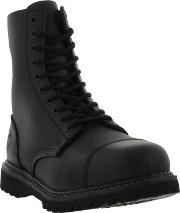 Grinders , Mens Stag Cs Safety Steel Toe Cap Boots Black