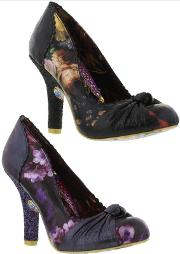 Irregular Choice , Womens Smartie Pants Floral Court Shoes