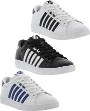 Kswiss , K Swiss Mens Hoke Retro Court Style Trainers