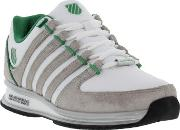 Kswiss , K Swiss Mens Rinzler Sp Trainers White Gull Grey Green