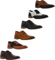London Brogues , Mens Gatsby Leather Brogue Shoes