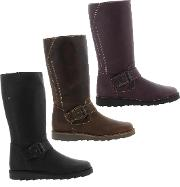 Oxygen , Womens Rhone Leather Boots