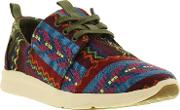 Toms , Del Ray Sneaker Wmns Red Grey Uk 4.5