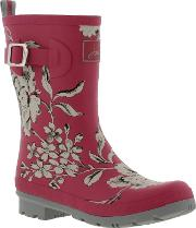 Joules , New  Molly Mid Wellies Womens Wellington Boots Ladies Size...