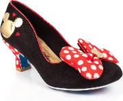 Irregular Choice , Womens Classic Minnie Disney High Heel Shoes