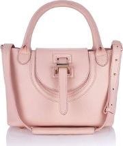 Meli Melo , Halo Mini Bag In Dusty Pink