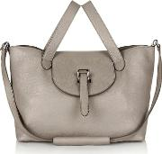 Meli Melo , Thela Medium Tote Bag Taupe