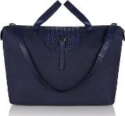 Melimelous , Thela Weekender Large Midnight Blue Nylon
