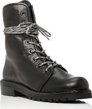 Stuart Weitzman , Metermaid Lace Up Leather Boots