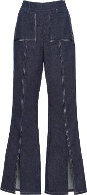 Edun , Denim Slit Pant