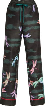 For Restless Sleepers , Ettore Wide Printed Pant