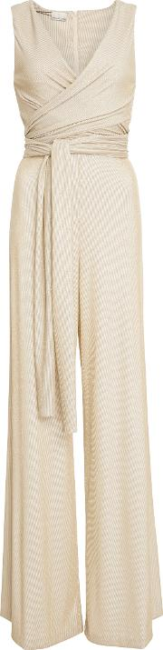 Miguelina , Norma Metallic Knit Jumpsuit