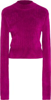 Tome , Chenille Mock Neck Top
