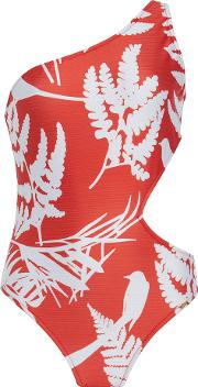 Salinas , Salinas Naturezara One Shoulder One Piece Swimsuit